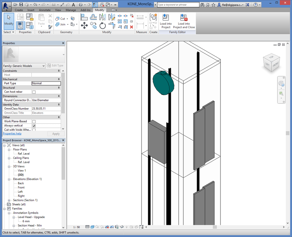 Short Review of KONE Elevator Toolbox | Elevator BIM Experts